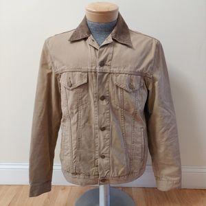 Levi's Flannel Lined Khaki Jacket Cotton